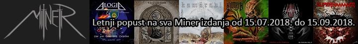 Letnji popust na sva Miner izdanja.