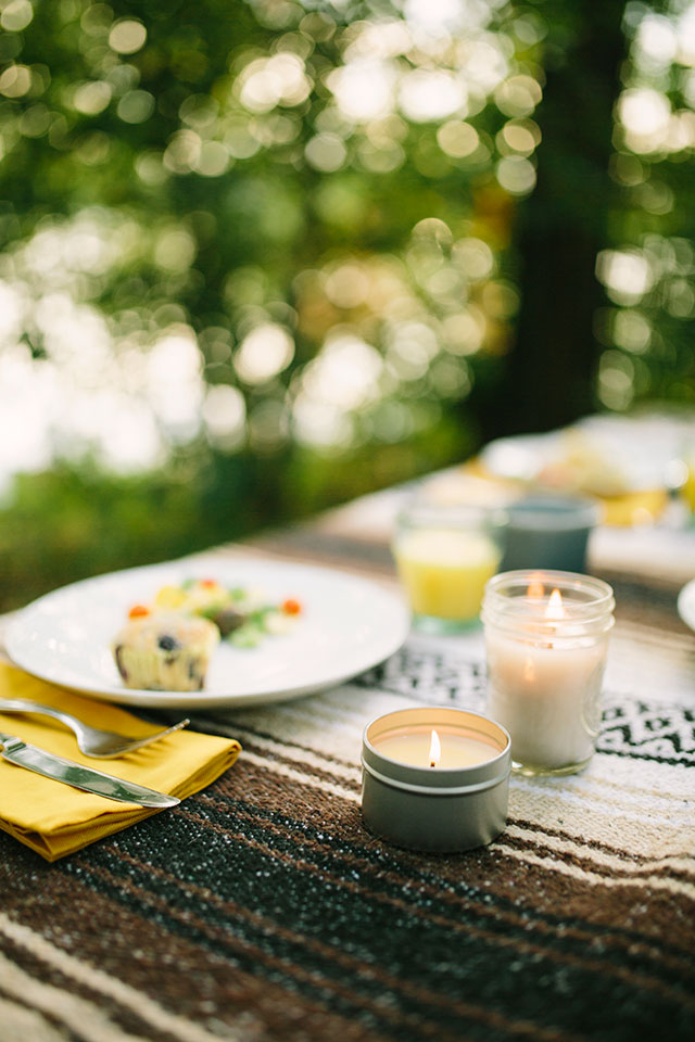 Breakfast in the park - Photography by Jessica Holleque