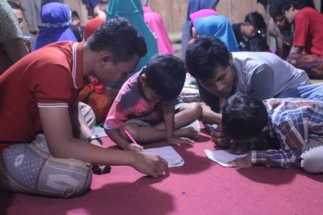 Bimbingan Belajar Gratis Untuk Anak-anak Desa Soket Laok