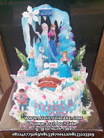 Birthday Cake Frozen Elsa and Anna