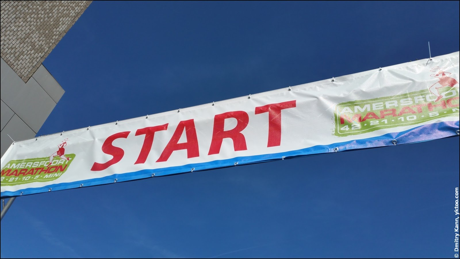 The start of the (half) marathon.