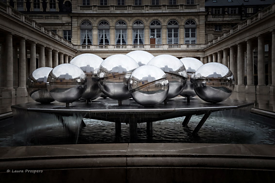 Fontaines de Pol Bury, Palais Royal - Paris © Laura Prospero
