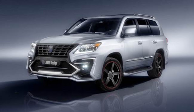 2018 Lexus LX 570 Redesign, Review