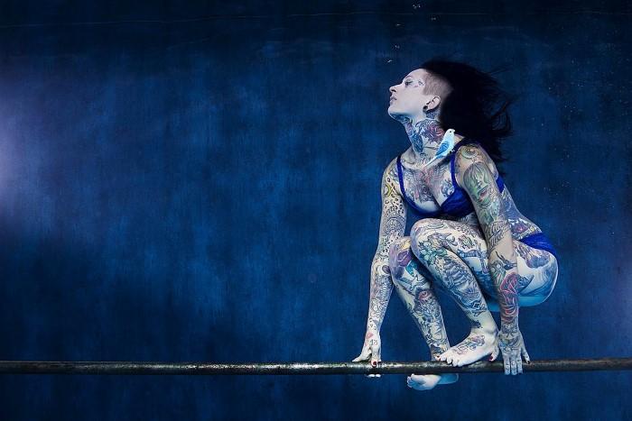 Под водой. Harry Fayt