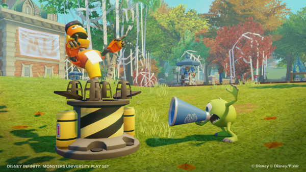 Disney Infinity Monsters University Play Set And Toy Box