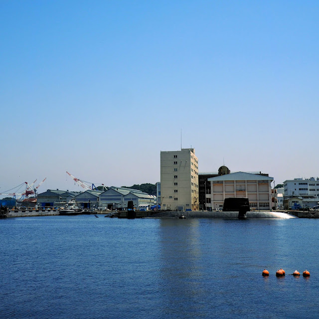 横須賀 ヴェルニー公園 潜水艦