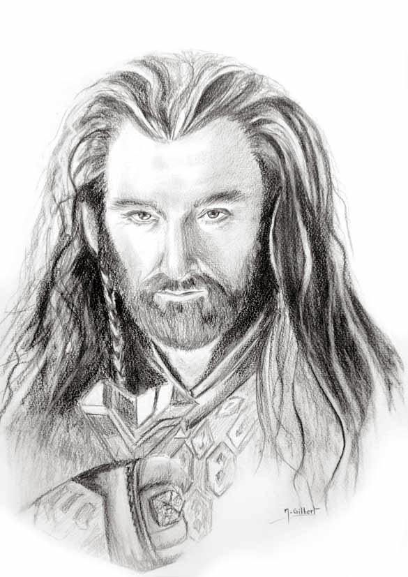 NABROCHOT-CREATIONS: THORIN (Bilbo le Hobbit - un voyage ...