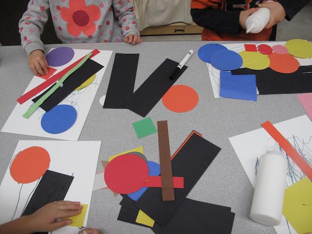 Metamora Community Preschool Masterpiece Monday-kandinsky