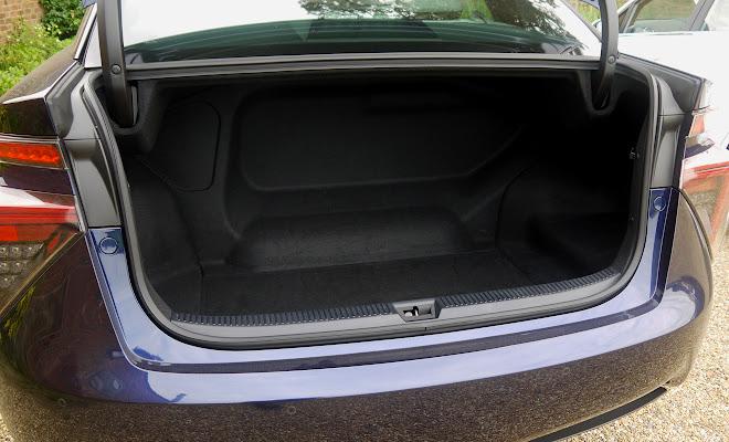 Toyota Mirai boot