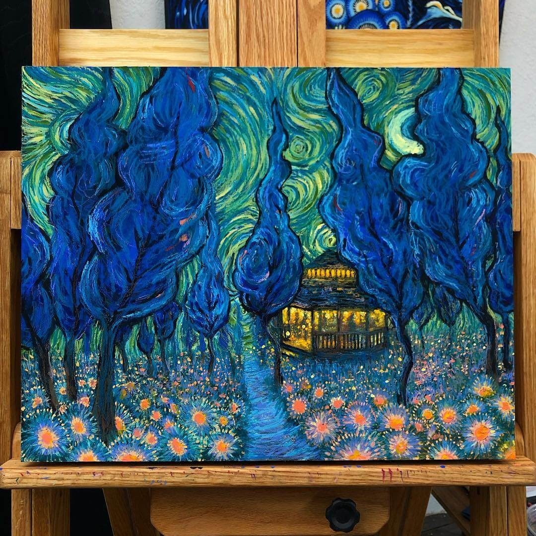 09-Days-would-pass-James-R-Eads-Surreal-Impressionism-in-Paintings-www-designstack-co