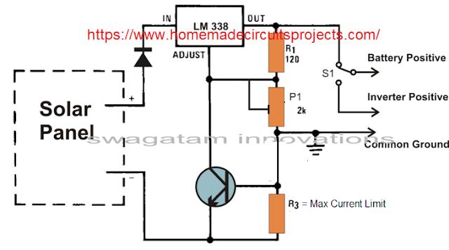 Solar Panel Voltage Regulator, Charger