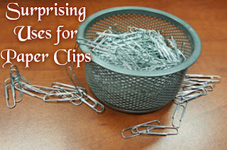 Surprising Uses for Paper Clips