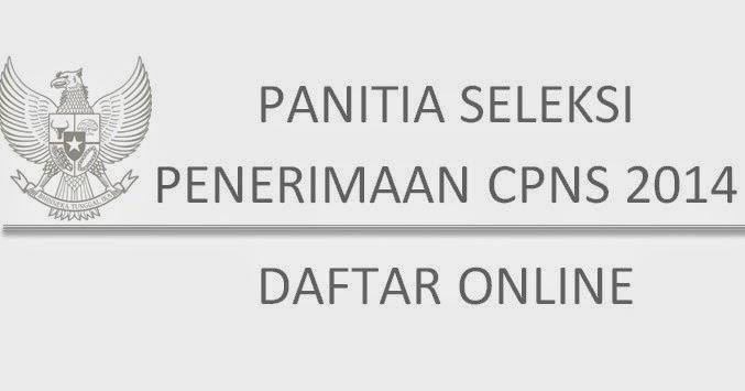 Formasi Pendaftaran Pppk: Pendaftaran Online CPNS