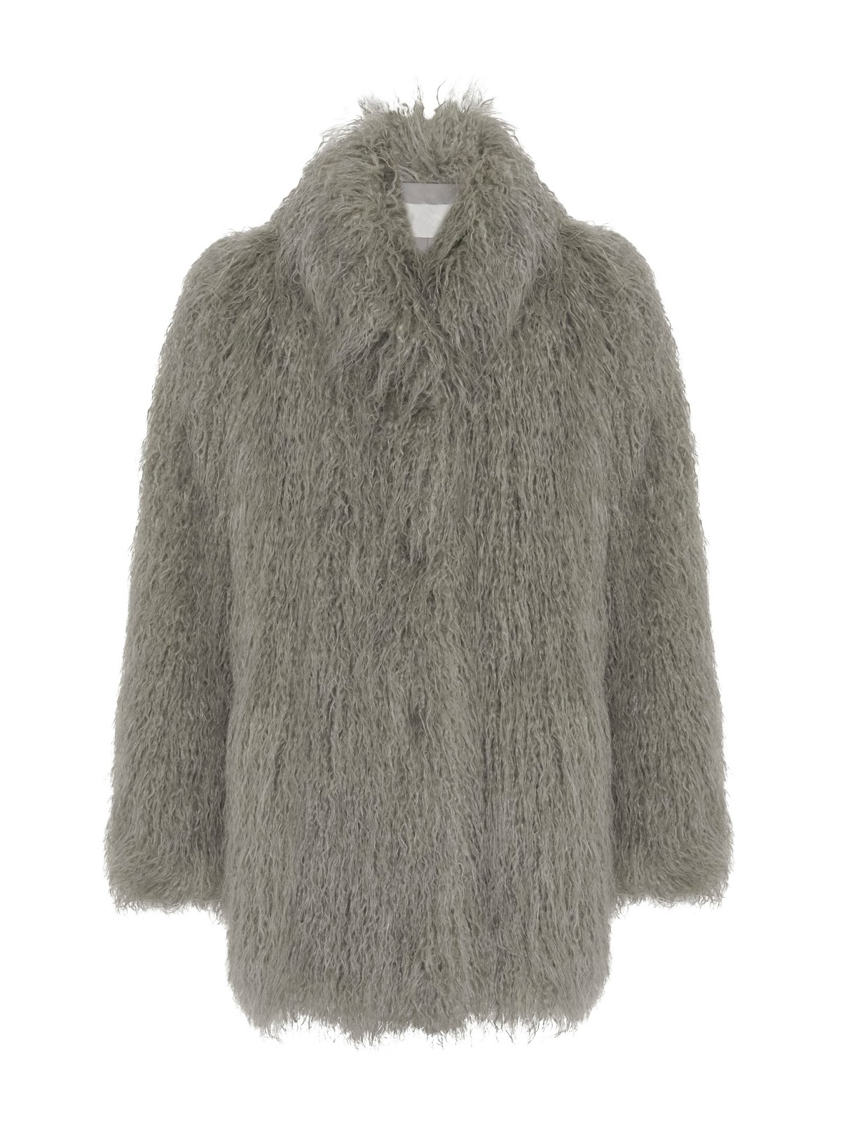 Twiggy Faux Fur Coat