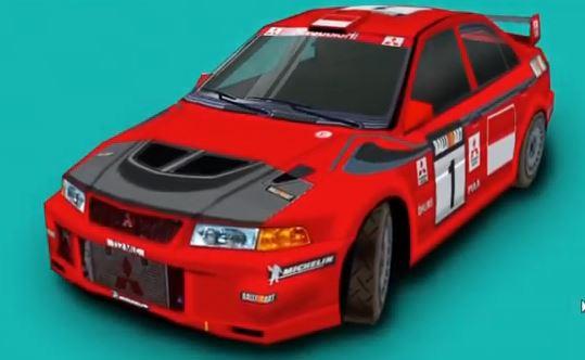 Mitsubishi Lancer Evolution VI Colin McRae Rally