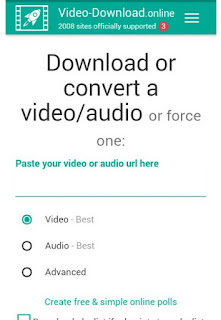 Cara Download Video Di Sendvid Secara Utuh