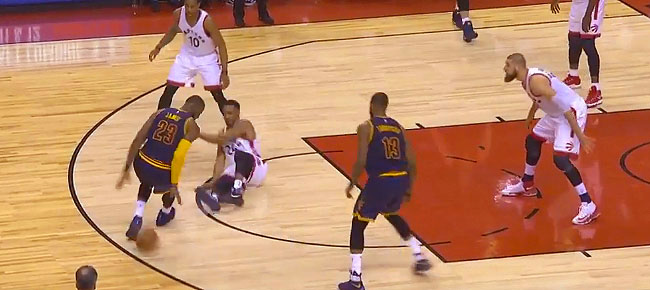 Lebron James' Amazing Performance Against Raptors in Game 3 (VIDEO)