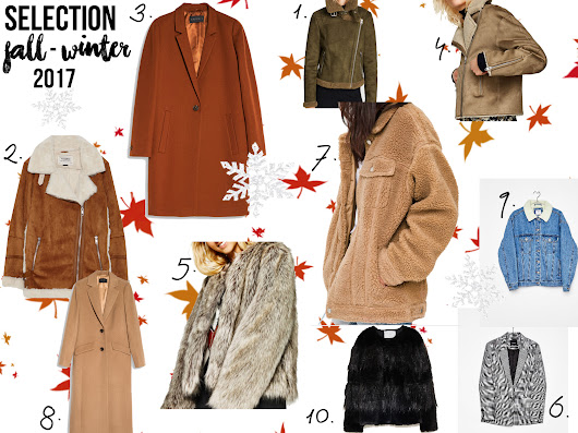 Winter is coming - Wishlist & Selection vestes/manteaux