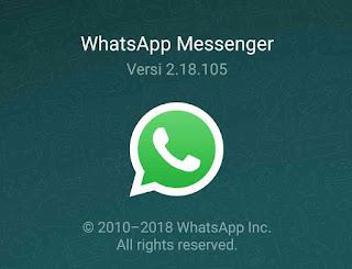 Lisensi resmi Whatsapp