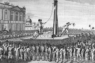 Resultado de imagen de guillotina primera vez parís 1792