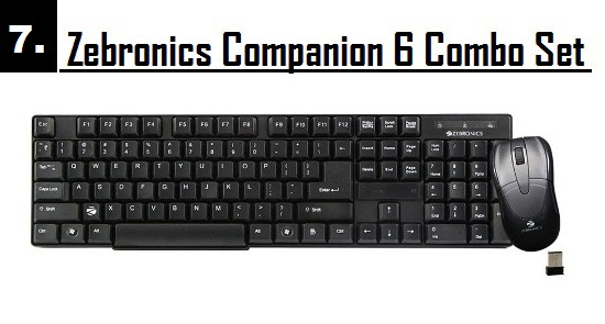 best wireless keyboard and mouse combo for office