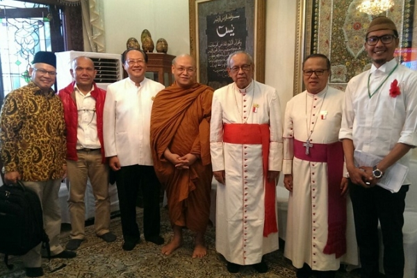 Pemuka Agama dan Tokoh Berkumpul di Haul Gus Dur