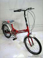 C 20 Inch Viva Valkon 6 Speed Folding Bike