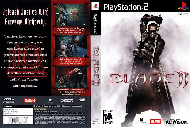 Capa PS2 Blade II