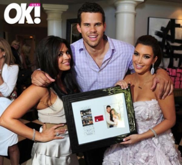 Kim Kardashian Wedding Gift: Kim Kardashian's Bridal Shower, OK Magazine, August 2011