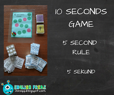 10 seconds game 5 sekund 5 second rule