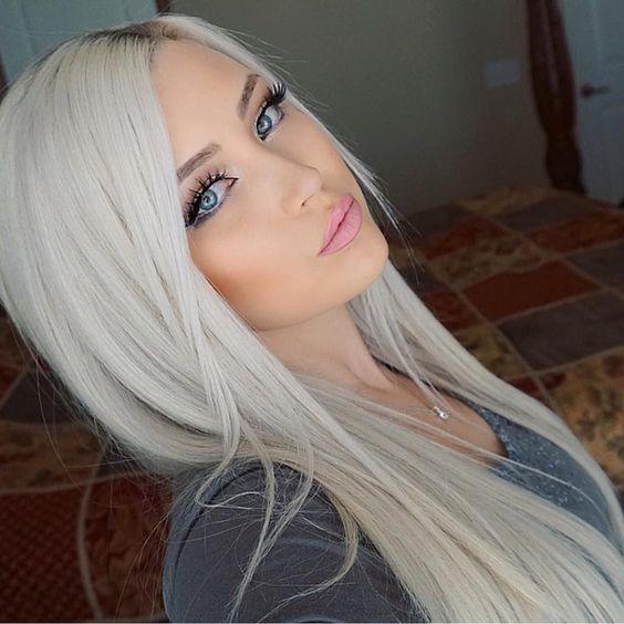 Stunning Platinum Blonde Hairstyles  OMG Love Beauty