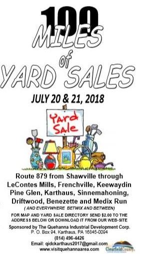 Cameron County PA News: 100 Mile Yard Sales!