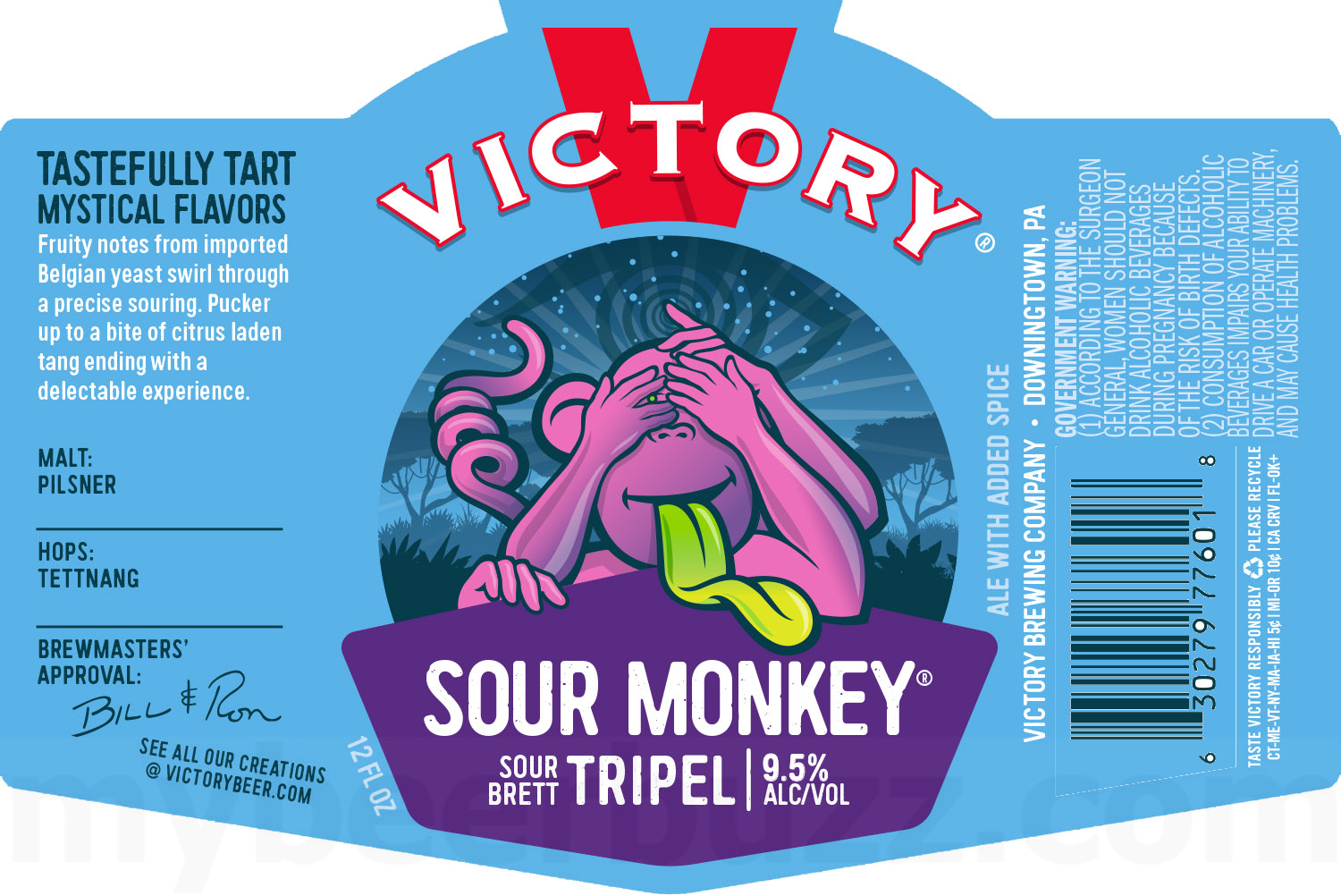 Victory Updating Summer Of Love, Sour Monkey & Home Grown Packaging