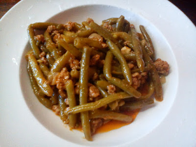 Recipe of the Day: Green beans with minced Grandma