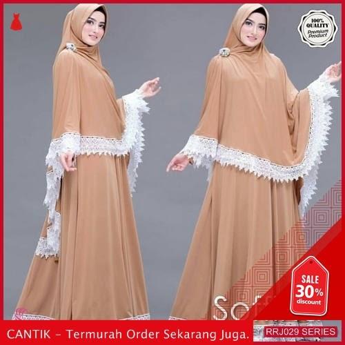 Jual RRJ029D144 Dress Muslim Soffina Wanita Syari Plus Set BMGShop