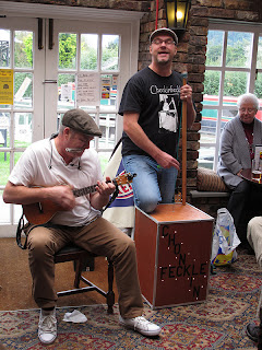chonkinfeckle with ukulele, bass and harmonica