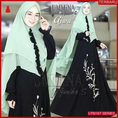 UTM167U67 Baju Ummina Muslim Ajwa Dewasa Syari UTM167U67 0A7 | Terbaru BMGShop