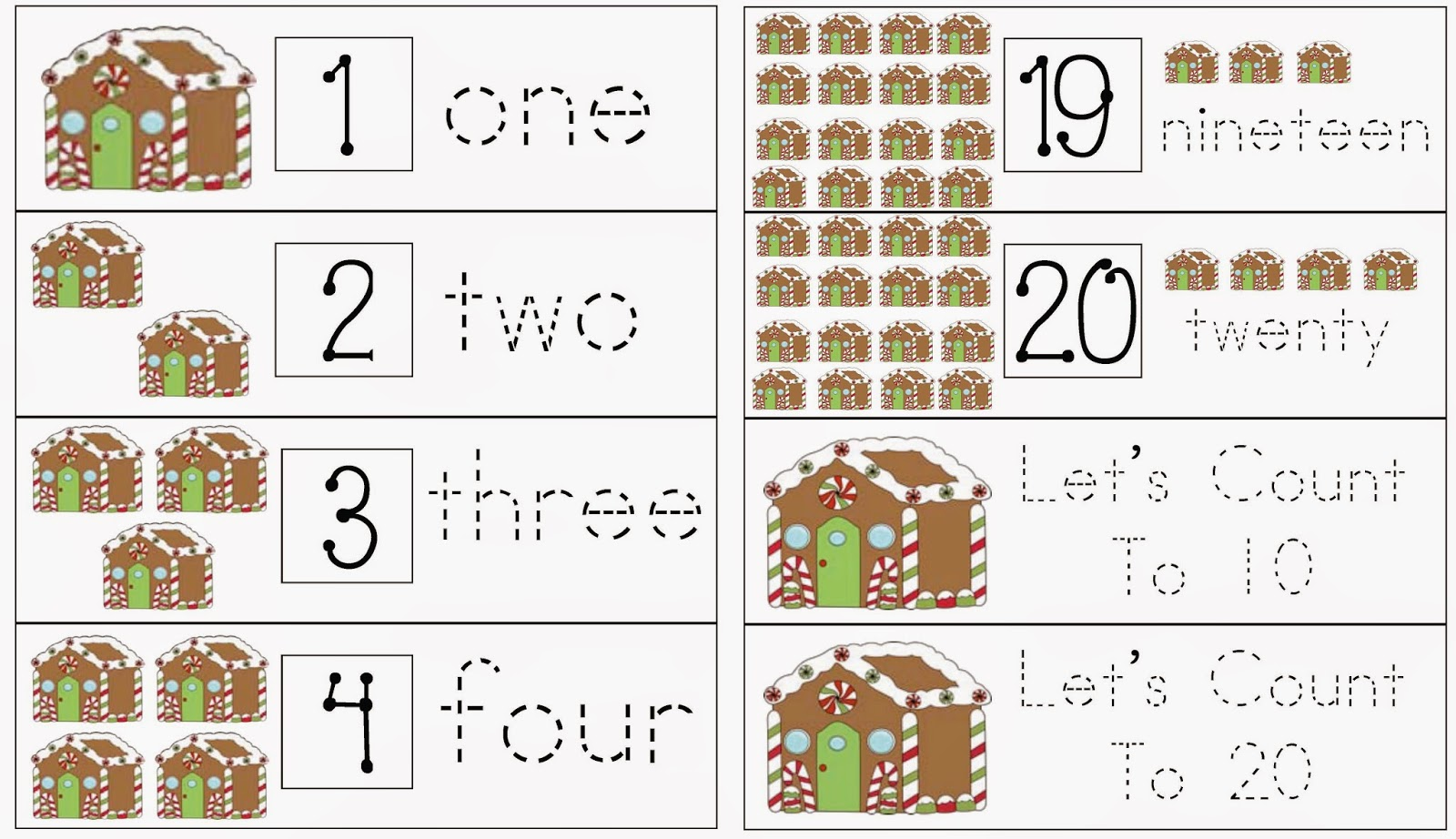 Classroom Freebies Gingerbread House Math Fun