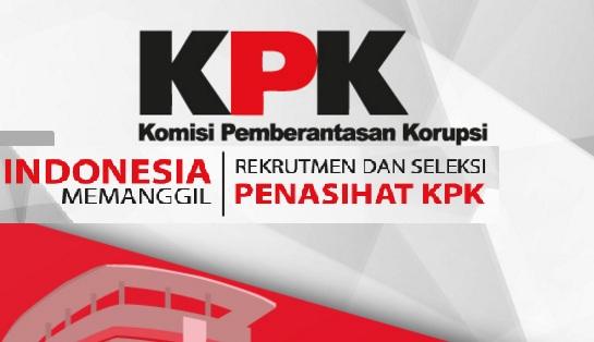 Lowongan Kerja Komisi KPK Tahun 2017