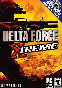 Delta Force Xtreme Cover