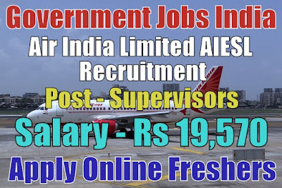 Air India AIESL Recruitment 2018