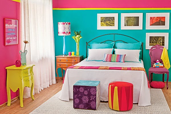 Dormitorios coloridos para niu00f1as - Dormitorios colores y ...