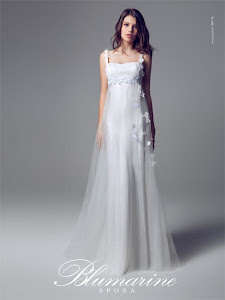 abito da sposa taglio impero Blumarine 2014
