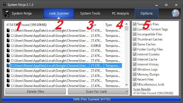 برنامج System Ninja لتسريع الويندوز وحل مشكلة بطئ الكمبيوتر