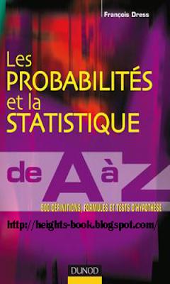 Télécharger Livre Gratuit Les probabilités et la statistique de A à Z pdf