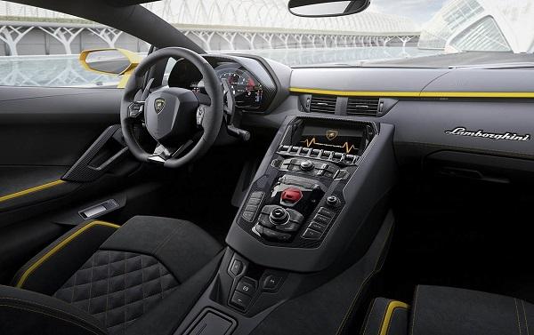 Interior Lamborghini Aventador S