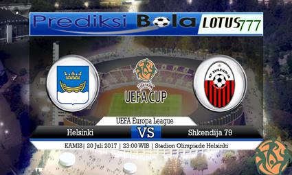 Prediksi Pertandingan antara Helsinki vs Shkendija 79 Tanggal 20 Juli 2017