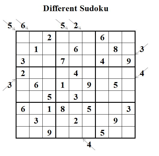 Different Sudoku (Daily Sudoku League #23)