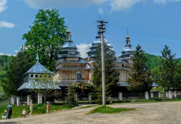 Сукель. Церковь святого Михаила. 1886 г. УПЦ КП