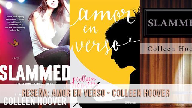 Reseña || Amor en verso - Colleen Hoover